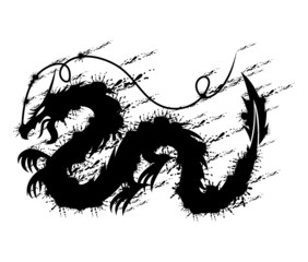 Dragon sign.