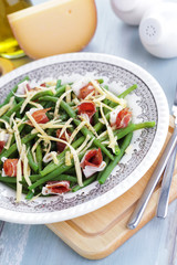 ham and beans salad