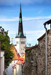 St Olaf (Oleviste) Church. Tallinn, Estonia