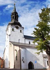St. Nicholas' Church (Niguliste). Old city, Tallinn, Estonia..