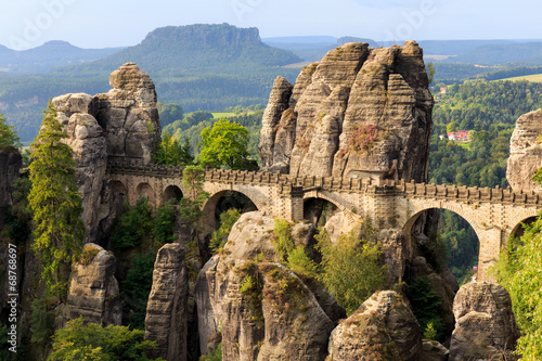 Bastion Bridge in Saxonia near Dresden - 68768697