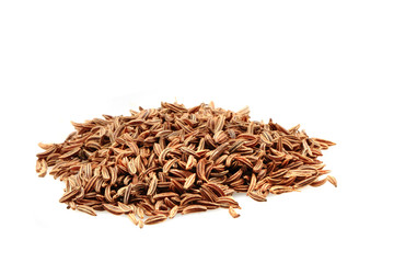 caraway spice isolated