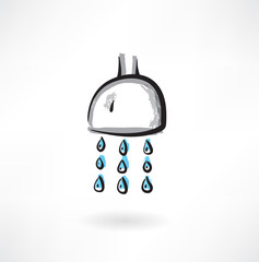 showerhead grunge icon
