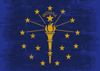 Indianan scratched flag
