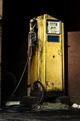 vecchia pompa di benzina