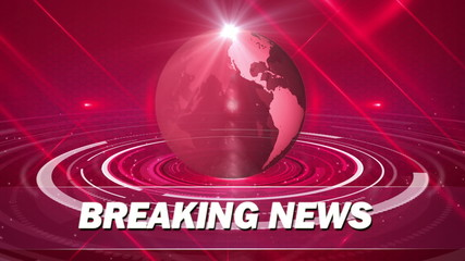abstract for breaking news background