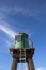 wooden light tower