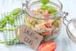Постер, плакат: Salat im Glas