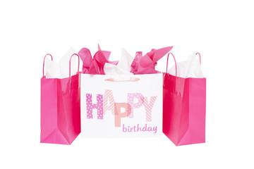 Happy Birthday Gift Bags