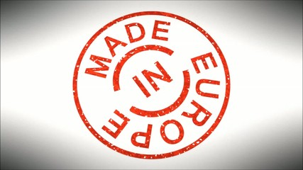 Stempel Made in Europe