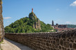 Постер, плакат: Le Puy en Velay : Statue Notre Dame de France Rocher Corneille