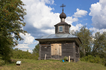 Часовня Николая Чудотворца в деревне Вахрушево