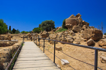 Agrigento - temples valley