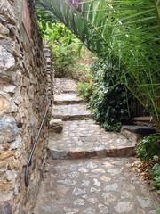 escalier exterieur de chateau