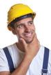 Bauarbeiter hat die Lösung gefunden