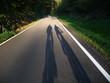 canvas print picture - Radfahren im Sauerland