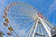 Giant wheel in Prater amusement park at Vienna
