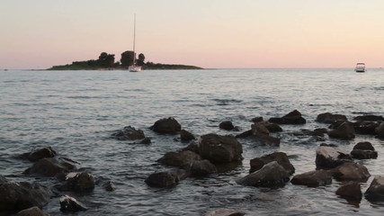 island on Adriatic sea