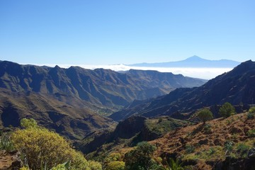 Teide from Degollada de Peraza
