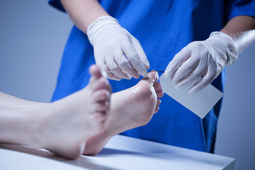 Nurse labeling of corpse
