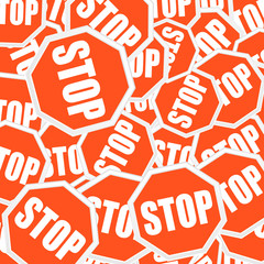 Stopsigns background