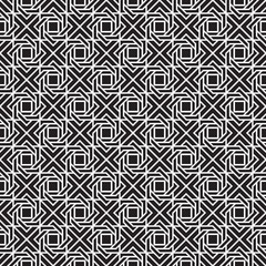 Seamless Abstract Art Deco Weave Pattern