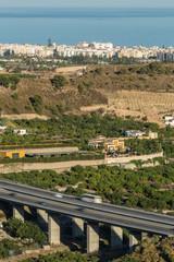 Spanish autoroute