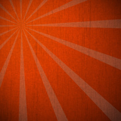 Gradient grunge background on canvas, brown to orange