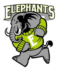 elephant school mascot