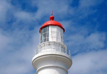 Lighthouse against blue sky, South Australia