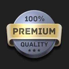 Premium Quality 100% Label,