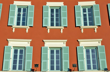 City of Nice - architectural details