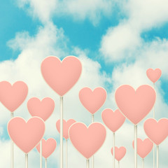 Hearts sign post.