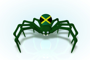 Jamaican Flag Spider