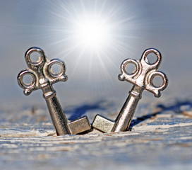 Schlüsselpaar