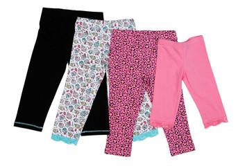 Colored children tights.