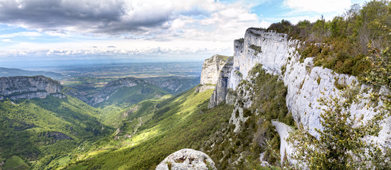 the passage of the alliance, park of Vercors,  France