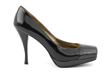 Black woman shoe