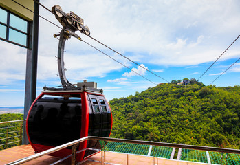 Cable Car in Hatyai, Songkhla, Thailand