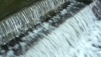 water dam on the river