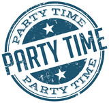 Fototapety party time stamp