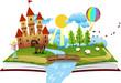Obrazy na płótnie, fototapety, zdjęcia, fotoobrazy drukowane : Book of Fairy Tales