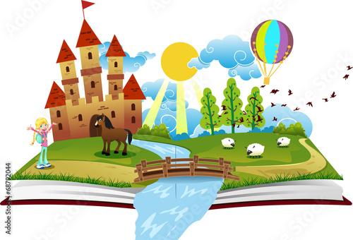 Zdjęcia na płótnie, fototapety, obrazy : Book of Fairy Tales