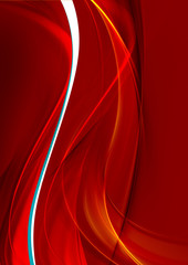 Passion fire waves. Creative element for your art-design. Hi-res