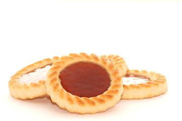 biscuits à la fraise