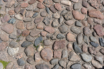 the ancient paving stones