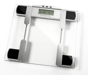 Digitale Personen Waage Display Du bist fett