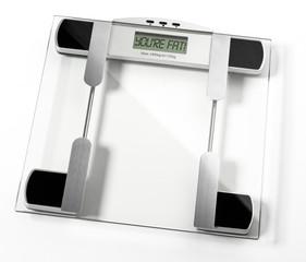 Digitale Personen Waage Display You're fat