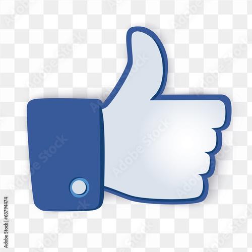 Zdjęcia na płótnie, fototapety, obrazy : i like icon