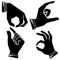 hand gesture sign